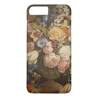 Eleganter Vintager BlumenRosen-Malerei-Kunst-Fall iPhone 8 Plus/7 Plus Hülle