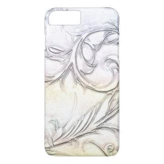 Elegantes Elfenbein simulierter geschnitzter iPhone 8 Plus/7 Plus Hülle