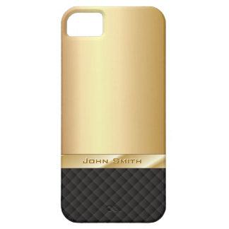 Elegantes Gold mit individueller Name iPhone 5 Fal Schutzhülle Fürs iPhone 5