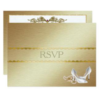 Elegantes homosexuelles Hochzeit UAWG Karte