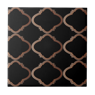 Elegantes marokkanisches Muster Fliese