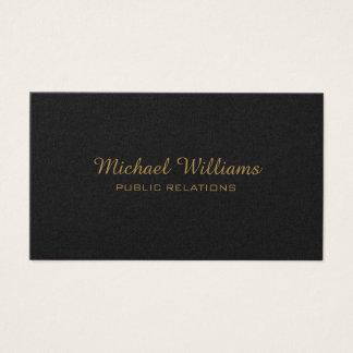 Elegantes professionelles Metall Visitenkarte