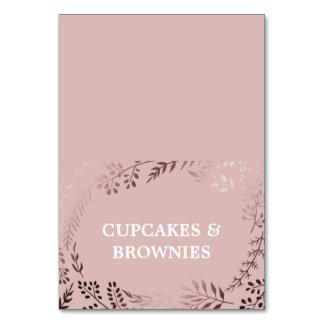 Elegantes Rosen-Gold und rosa Karte