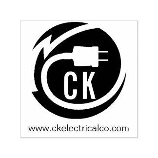 Elektrikerlogoentwurf Permastempel