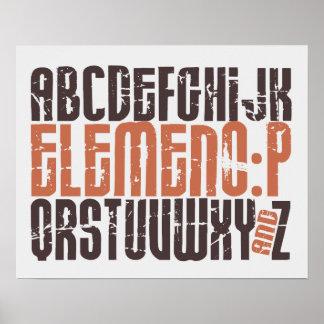 Elemeno-P - niedliches u. lustiges Kinderzimmer u. Poster