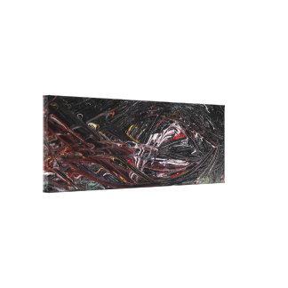 Element-abstrakte Malerei Leinwanddruck