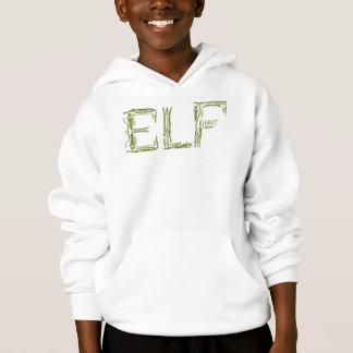 Elf-Waffen-Collage Hoodie