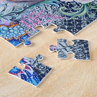Elisabethanisches Korallenriff-Königin-Puzzlespiel Puzzle