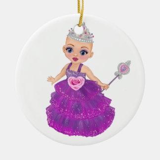 Ella die verzauberte Prinzessin Who Are You? Keramik Ornament
