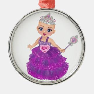 Ella die verzauberte Prinzessin Who Are You? Silbernes Ornament