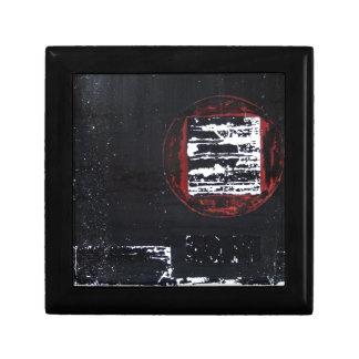 Elle-abstract-018-2228-Original-Abstract-Art-Born- Kleine Quadratische Schatulle