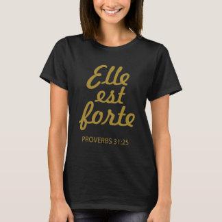 Elle Est Forte, der christlichen T - Shirt