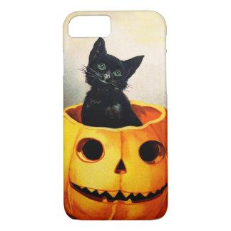 Ellen H. Clapsaddle: Schwarze Katze im Jack iPhone 7 Hülle
