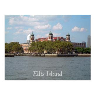 Ellis Island Postkarte