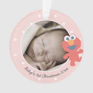 Elmo   das erste Weihnachten Babys - addieren Sie Ornament