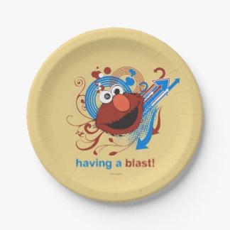 Elmo - eine Explosion haben! Pappteller