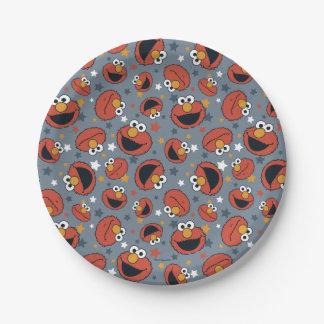 Elmo | Elmo Regel-Sternchen-Vereinbarung Pappteller