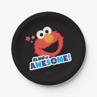 Elmo fantastisch pappteller 17,8 cm