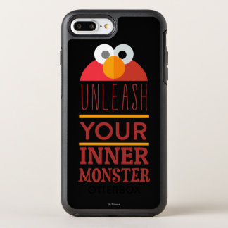 Elmo inneres Monster OtterBox Symmetry iPhone 8 Plus/7 Plus Hülle