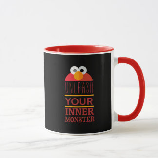 Elmo inneres Monster Tasse