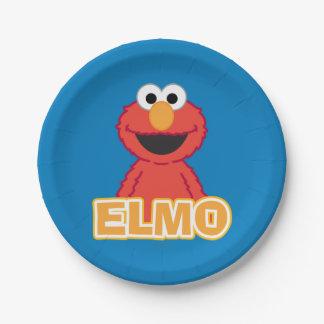 Elmo Klassiker-Art Pappteller 17,8 Cm