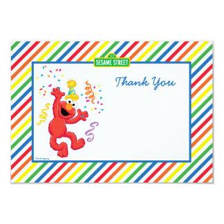 Elmo Striped Geburtstag danken Ihnen Karten 8,9 X 12,7 Cm Einladungskarte