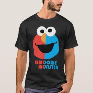 Elmo und Plätzchen-halbes Gesicht T-Shirt