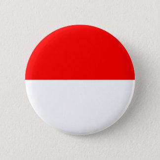 Elsass-Lothringen Flagge Runder Button 5,1 Cm