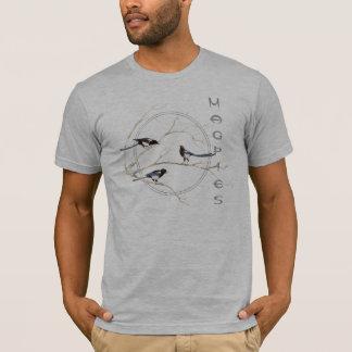 Elster, Aquarell-Vogel-Sammlung, Natur T-Shirt