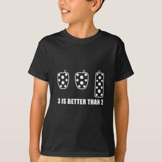 elt Weiß mit Text rad T-Shirt