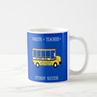 Eltern + Lehrer = Studenten-Erfolg Kaffeetasse