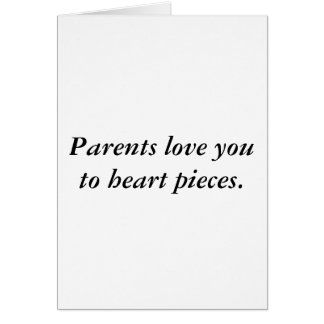 Eltern-Liebekarte Karte