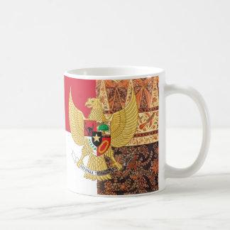 Emblem von Indonesien - Garuda Pancasila Kaffeetasse