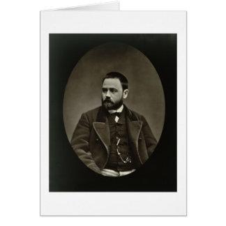 Emile Zola (1840-1902) von 'Galerie Contemporaine Karte