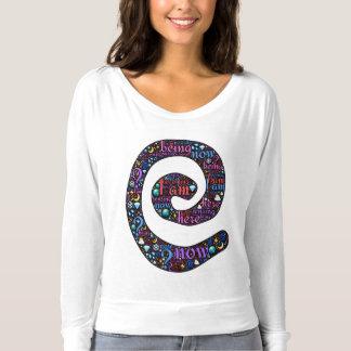 Emoji-Kunst heilige Spirale symbolisiert Sein T-shirt