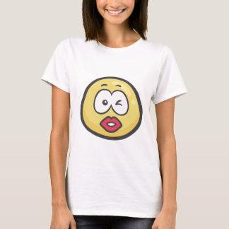 Emoji: Küssen des Gesichtes T-Shirt