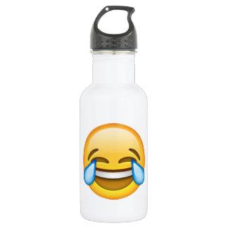 Emoji - Risse der Freude Edelstahlflasche