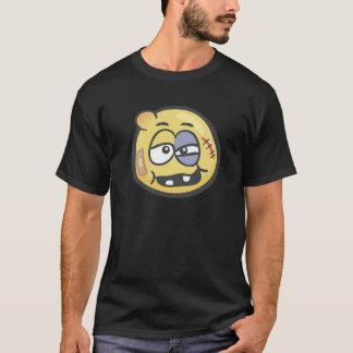 Emoji: Schlagen Sie oben Gesicht T-Shirt