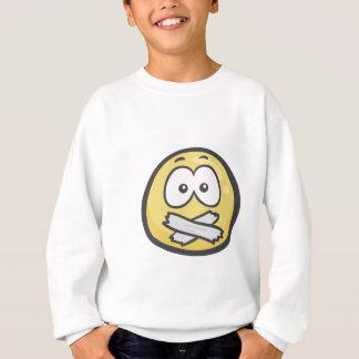 Emoji: Schweigend Gesicht Sweatshirt