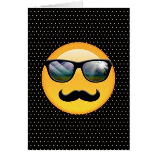 Emoji super schattiges ID230 Grußkarte