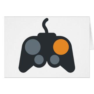 Emoji Twitter - Video Games zu kontrollieren Grußkarte