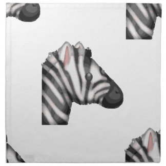 emoji Zebra Serviette