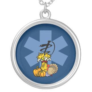 Ems-Erntedank für EMT und Sanitäter Versilberte Kette