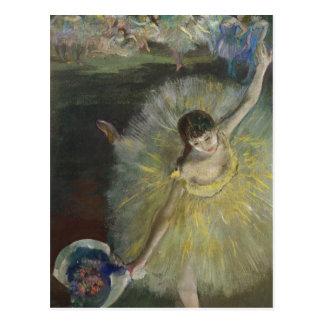Ende Edgar Degass | einer Arabeske, 1877 Postkarte