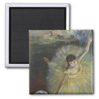 Ende Edgar Degass | einer Arabeske, 1877 Quadratischer Magnet