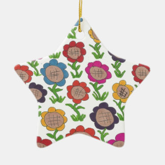 Endlose Garten-Blumen-Muster-Kunst Keramik Ornament