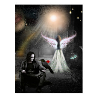 Endlose Liebe Postkarte