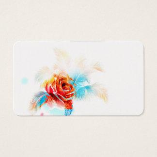 Energie-Blume für Ihr Geschäft Visitenkarte