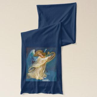 Engel, der Musik auf einer Harfe spielt Schal