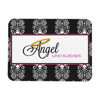 Engel, der rechteckigen Magneten schwört Magnet
